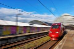 Modern Fast Passenger Train. Stock Photos