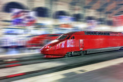 Modern Fast Passenger Train. Stock Photos