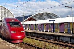 Modern Fast Passenger Train Stock Images