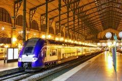 Modern Fast Passenger Train Royalty Free Stock Photo