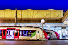 Modern Fast Passenger Train Stock Photography