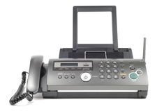 Modern Fax Royalty Free Stock Image