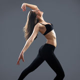Modern female dancer Royalty Free Stock Photography