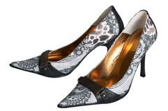 Modern female shoes Stock Photo