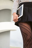 Modern female worker business lifestyle Stock Images