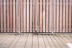 Modern fence Stock Images