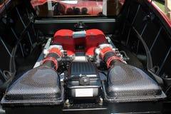 Modern ferrari engine Stock Photos