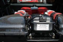 Modern ferrari engine Royalty Free Stock Photos