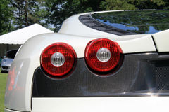 Modern ferrari rear corner Royalty Free Stock Image
