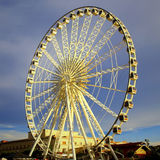 Modern Ferris wheel Outdoor mess Royalty Free Stock Image