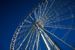 Modern Ferris Wheel Stock Photo
