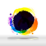 Modern festive bright and dark colorful buble Stock Photos