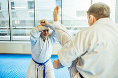 Modern fight club Royalty Free Stock Photography