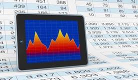 Modern financial analysis Royalty Free Stock Image