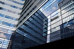 Modern financial office building Stock Image