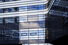 Modern financial office building Royalty Free Stock Image