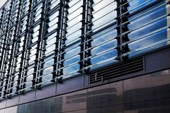 Modern financial office building Royalty Free Stock Photography
