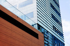 Modern financial office building Stock Images