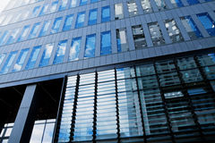 Modern financial office building Royalty Free Stock Photo