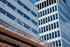 Modern financial office building Stock Photo