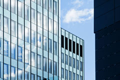 Modern financial office building Stock Photos
