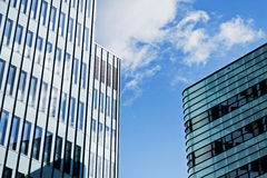 Modern financial office building Stock Photography