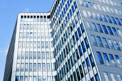 Modern financial office building Royalty Free Stock Photos