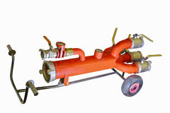 Modern fire fighting equipment Stock Image