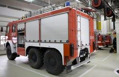 Modern fire station Stock Photo