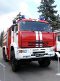 Modern fire truck Royalty Free Stock Images