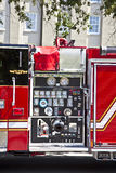 Modern fire truck in Charleston Stock Photos