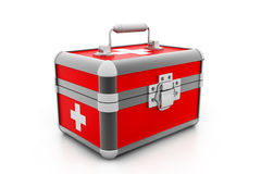 Modern First aid kit Royalty Free Stock Image