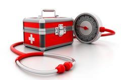 Modern First aid kit Stock Photos