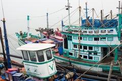Modern fishing boat Stock Photos