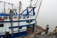 Modern fishing boat Stock Photo