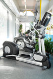 Modern fitness hall with fitness machines Royalty Free Stock Photography