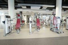 modern fitness hall Stock Photography