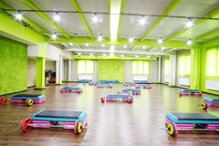 Modern fitness hall Royalty Free Stock Photography