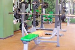 Modern fitness hall Stock Image