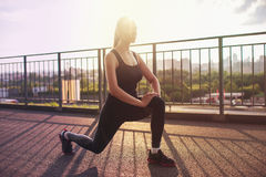 Modern fitness life Royalty Free Stock Images