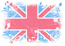 Modern Flag of Great Britan Royalty Free Stock Photography