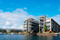Modern flat building at Copenhagen Royalty Free Stock Image