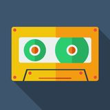 Modern flat design concept icon. Tape recorder. Royalty Free Stock Photo