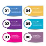 Modern flat design infographics Royalty Free Stock Photography