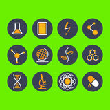 Modern flat icon  illustration collection Royalty Free Stock Photo