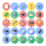 Modern flat icon vector illustration collection Stock Image