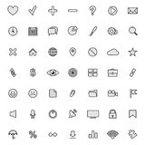 Modern flat icons  collection Stock Photos