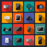 Modern flat icons  collection  Royalty Free Stock Images