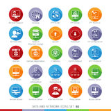 Modern Flat Icons Set 03 Royalty Free Stock Photos