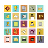 Modern flat icons set. Modern flat icons vector collection. on white background Stock Images